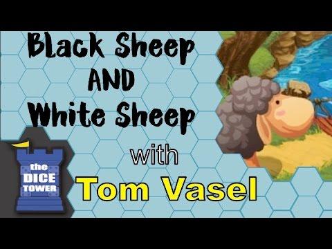 Dice Tower Reviews: Black Sheep and White Sheep