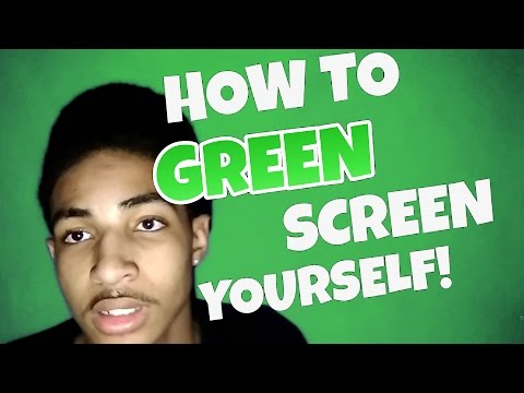 How To GREEN SCREEN Yourself Using Android