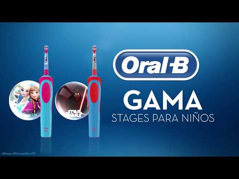 Cepillos de dientes eléctrico para niños Oral-B Stages