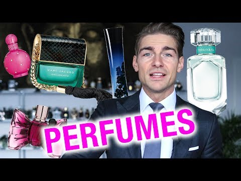 My Favorite Perfumes for Women 2018