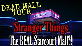 Stranger Things REAL Starcourt Mall DEAD MALL TOUR