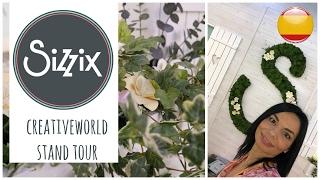 Creativeworld 2017: Tour por el stand de Sizzix. (Español)