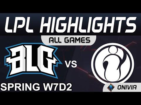 BLG vs IG TheShy劍魔越砍越多血 2021 LPL春季賽Highlights