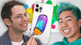 Surprising Fans With $4200 Custom iPhone 12s ft. ZHC