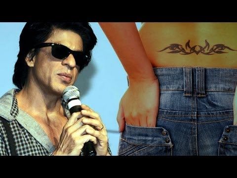 'Girls With Lower Back Tattoos Look Sexy!' – Shah Rukh Khan Video