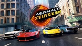 ASPHALT STREET STORM RACING Android / iOS Gameplay Video
