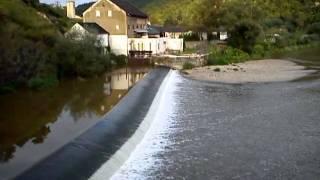 preview picture of video 'Železniční most přes Berounku u Mokropes'