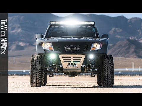 Nissan Frontier Desert Runner   SEMA 2019