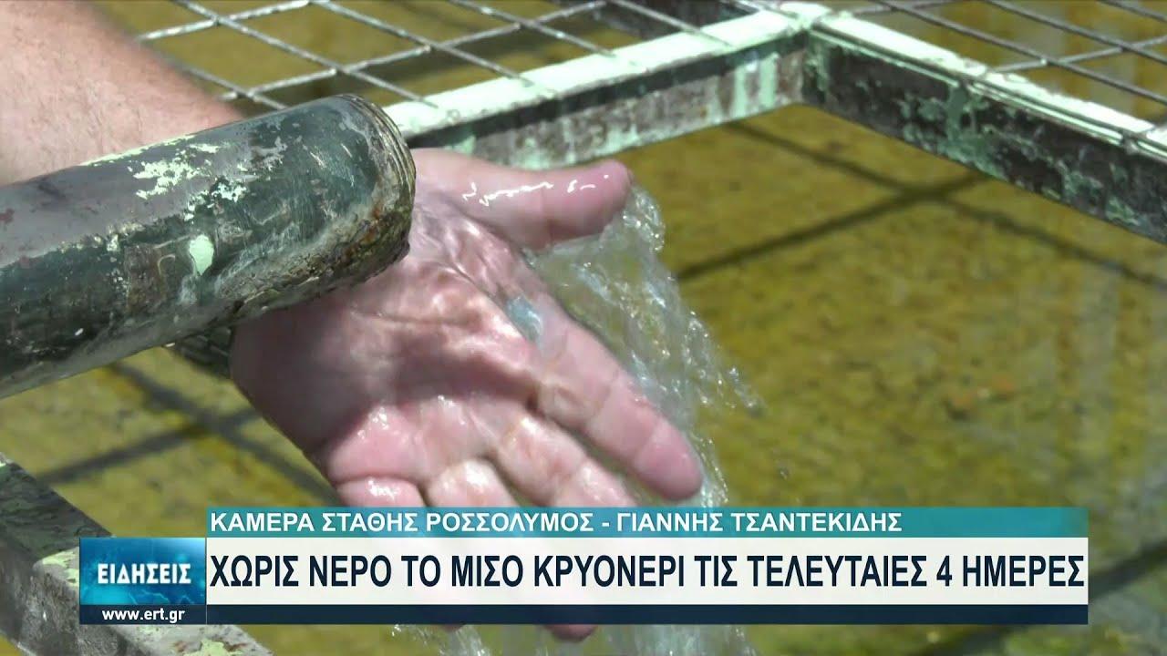 Θεσσαλονίκη: Για 4η ημέρα χωρίς νερό το Κρυονέρι Λαγκαδά   03/08/2021   ΕΡΤ