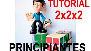Tutorial 2x2x2 Para Niños Para Dummies Para Principiantes Sin Fórmulas  | Solución Rubik