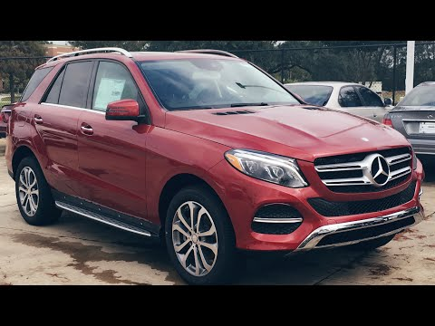 2016 Mercedes Benz GLE Class: GLE 350 SUV Full Review, Start Up, Exhaust