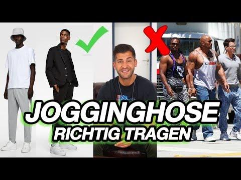 JOGGINGHOSEN RICHTIG TRAGEN | SO WIRDS GEMACHT | MENS FASHION