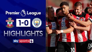 SUBSCRIBE ► http://bit.ly/SSFootballSub PREMIER LEAGUE HIGHLIGHTS ► http://bit.ly/SkySportsPLHighlights Highlights from the Premier League where a 40-yard chip from Che Adams secured a 1-0 victory for Southampton over Manchester City.  Watch Premier League LIVE on Sky Sports here ► http://bit.ly/WatchSkyPL ►TWITTER: https://twitter.com/skysportsfootball ►FACEBOOK: http://www.facebook.com/skysports ►WEBSITE: http://www.skysports.com/football  MORE FROM SKY SPORTS ON YOUTUBE: ►SKY SPORTS CRICKET: https://bit.ly/SubscribeSkyCricket ►SKY SPORTS BOXING: http://bit.ly/SSBoxingSub ►SOCCER AM: http://bit.ly/SoccerAMSub ►SKY SPORTS F1: http://bit.ly/SubscribeSkyF1