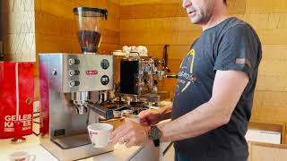 Espressomaschine Lelit PL81T PID – ein TOP Einkreisgerät mir vielen Funktionen. Spitzname GRACE!