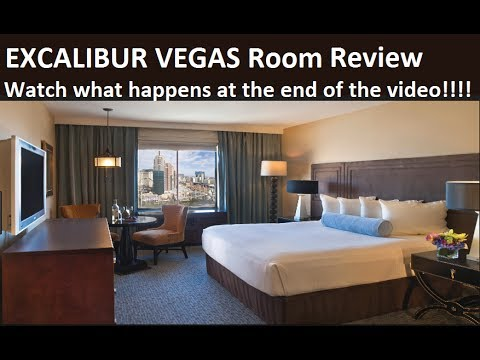 Excalibur Room Video Review:  Watch What happens at the end of the Video!! from top-buffet.com