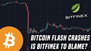 Bitcoin Flash Crashes 10% After NYAG Accuses Bitfinex of Missing Funds