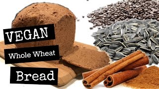 vegan whole wheat bread maker recipe