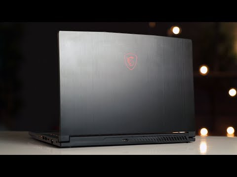 MSI GF63 Review – A Super Light Gaming Laptop!