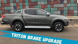 Bendix Ultimate 4WD Brake Upgrade Kit - Mitsubishi Triton