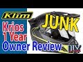 OVERPRICED JUNK KLIM KRIOS CARBON 1 YEAR OWNER REVIEW