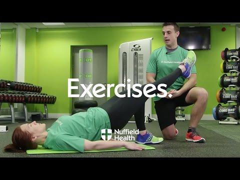 How To Single Leg Hip Raise | Nuffield Health