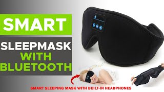 Smart Sleep Mask With Bluetooth - Order Online