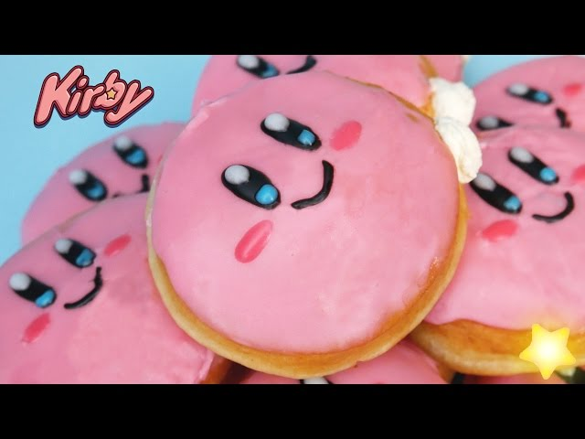 Kirby-カービィ-doughnuts-donuts-ドーナツ