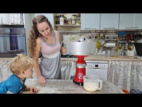 Как сепарировать молоко/ Сепаратор Мастерица