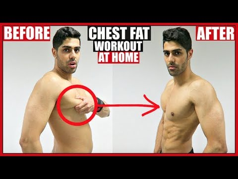 CHEST FAT WORKOUT AT HOME | NO EQUIPMENT!!