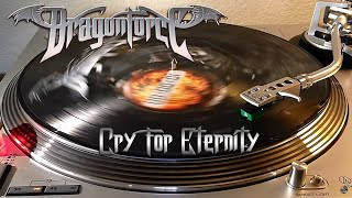 Dragonforce - Cry For Eternity - [Very Rare] Picture Disc Vinyl LP