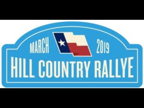 Texas Hill Country Rallye 2019