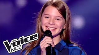 "Lou - ""Faded"" (Alan Walker)   The Voice Kids France 2017   Blind Audition"