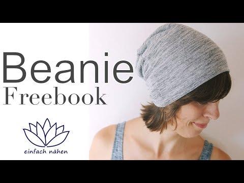 Beanie nähen incl. kostenloses Schnittmuster - mit Anna von einfach nähen