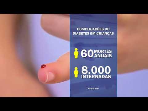 Baixa temperatura provoca uma criança com diabetes