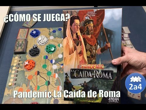 Pandemic la caida de Roma, Cómo se juega.