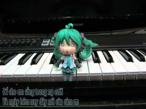 Hatsune Miku Append - Cám ơn [Thank you] (Original Vietnamese Vocaloid Song)