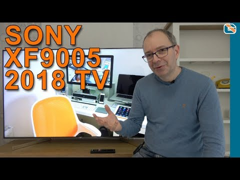 Sony KD-65XF9005 XF9005 XF90 4K ULTRA HD HDR Smart TV Review