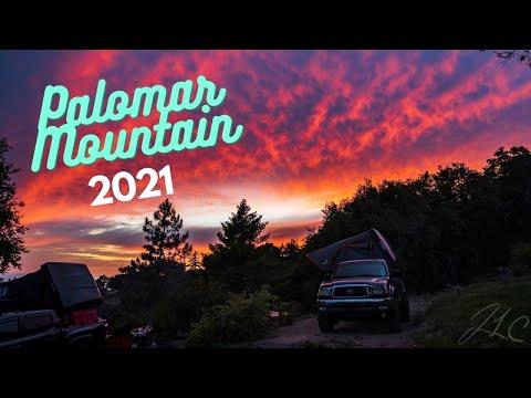Palomar Mountain Camping | Lunar Eclipse May 26, 2021| USA