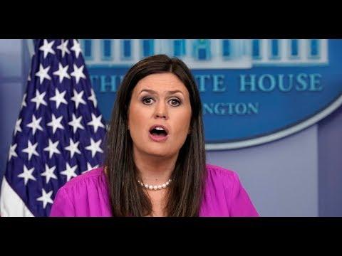 MUST WATCH: Press Secretary Sarah Sanders URGENT White House Press Briefing on Roy Moore Endorsement