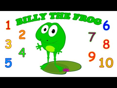 Billy the Frog | Song for Children Learning English