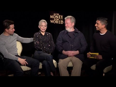 Ridley Scott, Michelle Williams & Mark Wahlberg Discuss All the Money in the World | IMDb Exclusive