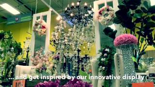 United Wholesale Flowers: Wedding Showroom