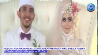 Resepsi Pernikah Agus Ahmad Kafabihi dan Ning Sheila Hasina