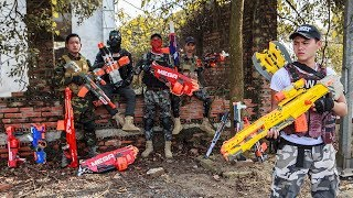 LTT Nerf War : Squad SEAL X Warriors Nerf Guns Fight