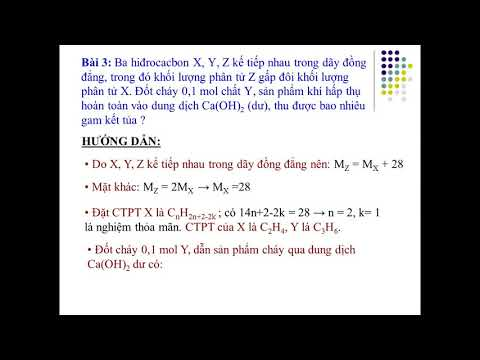 Ôn tập hóa học lớp 11 Bài tập phản ứng oxi hóa hoàn toàn của hiđrocacbon mạch hở