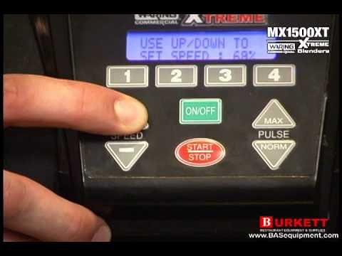 Video Waring MX1500XT Bar Blender