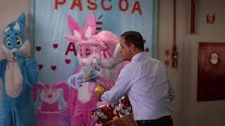 Entrega dos Ovos de Páscoa na Creche Paraisópolis