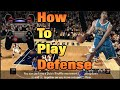 NBA 2k15 Tutorial | How To Play Defense, Block, Steal, and More Ft. Anthony Davis!