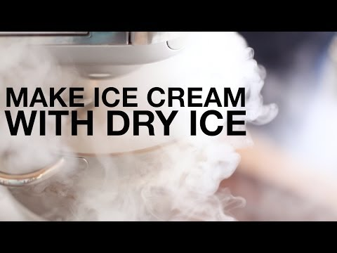 Video Make Ice Cream Using Dry Ice and a Stand Mixer • ChefSteps