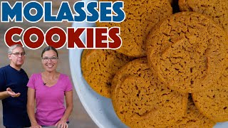 Old Fashioned Soft & Chewy Molasses Cookies Recipe – 1935